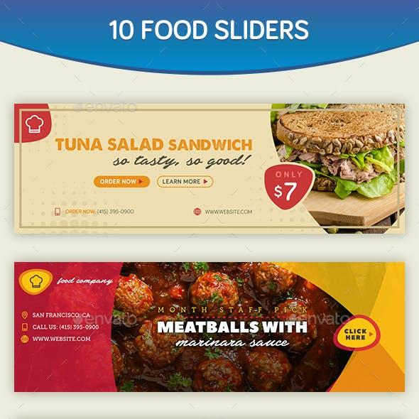 Food Sliders