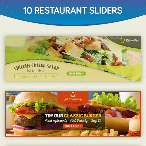 Restaurant Sliders