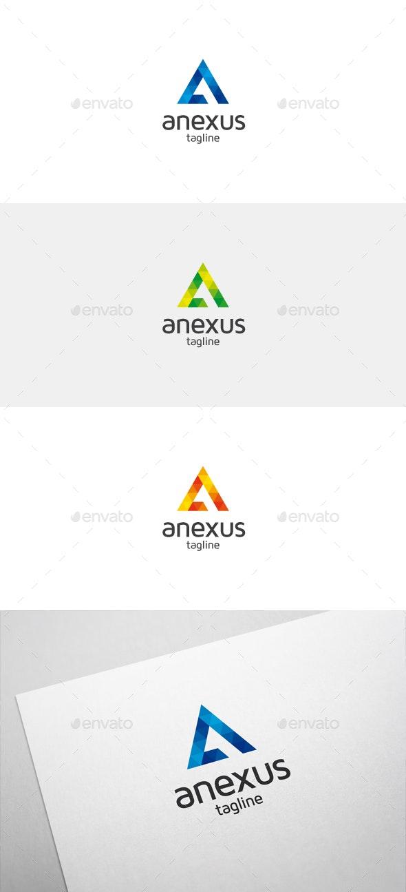Anexus A Letter Logo - Letters Logo Templates