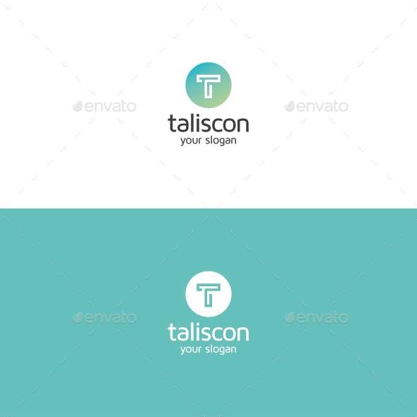 Taliscon T Letter Logo