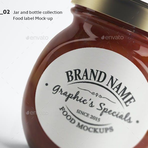 Jar/Bottle Mockups