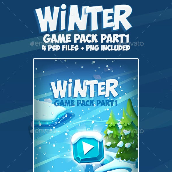 Christmas Winter Frozen Game Pack 1
