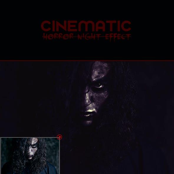 Cinematic Horror Night Effect
