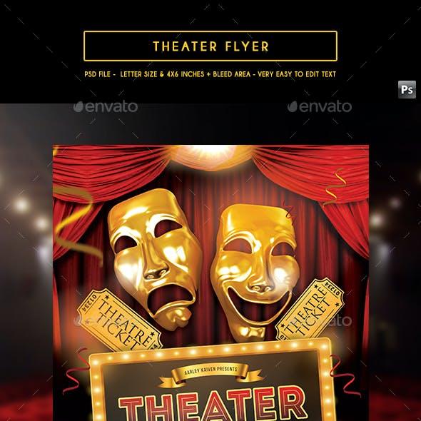 Theater / Movie Flyer