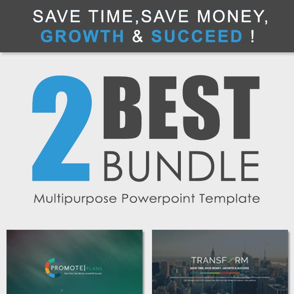 2 IN 1 - Powerpoint Presentation Template