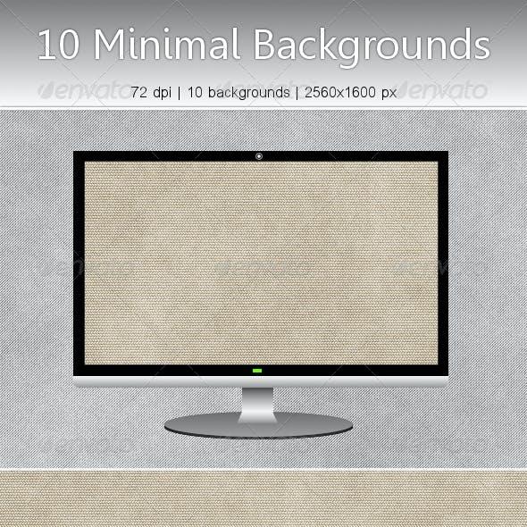 10 Subtle Minimal Backgrounds