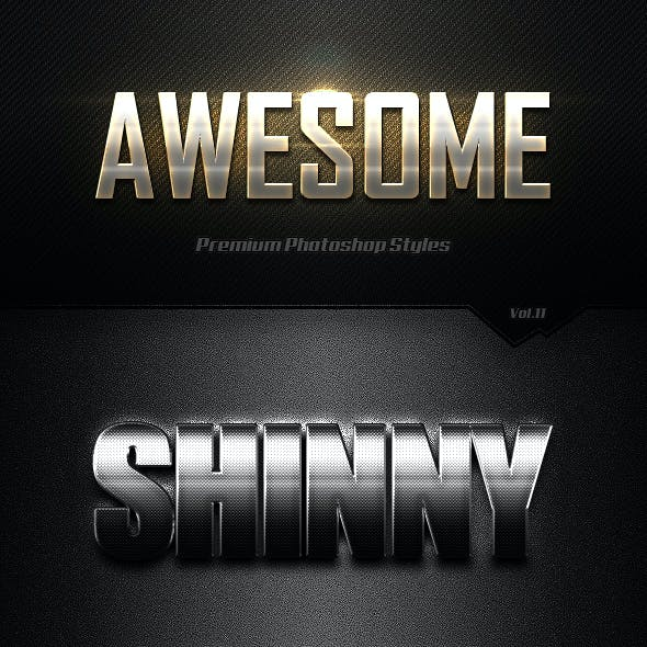 Photoshop Text Effects Vol.11
