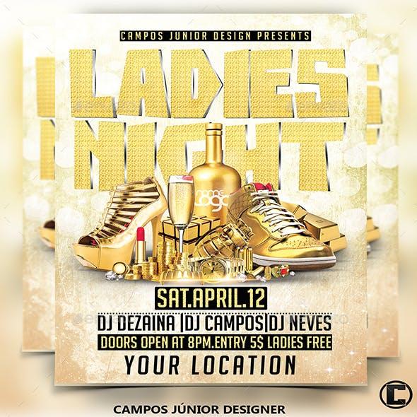 Ladies Night - Flyer Template