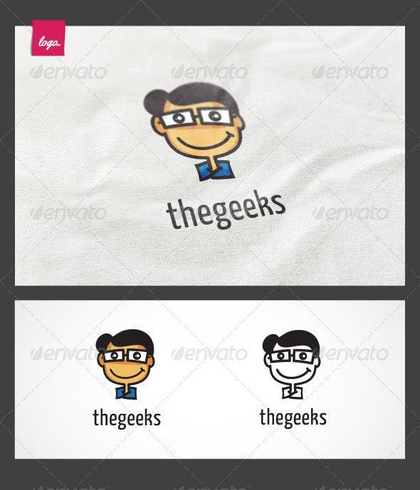 The Geeks Logo - Humans Logo Templates