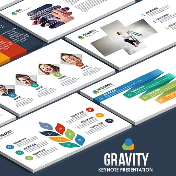 Gravity Business Keynote Template