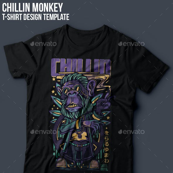 Chillin T-Shirt Design