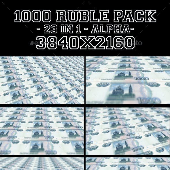 1000 Rubles Pack 23 in 1