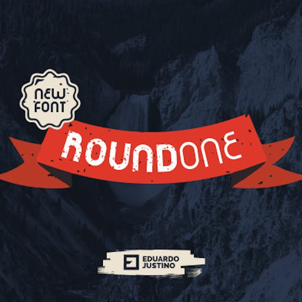 RoundOne - New Font (3 Styles)