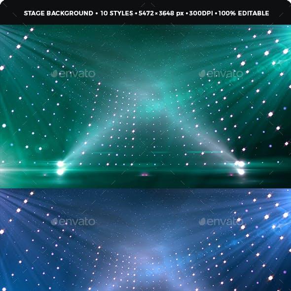 Revolving Stage Background