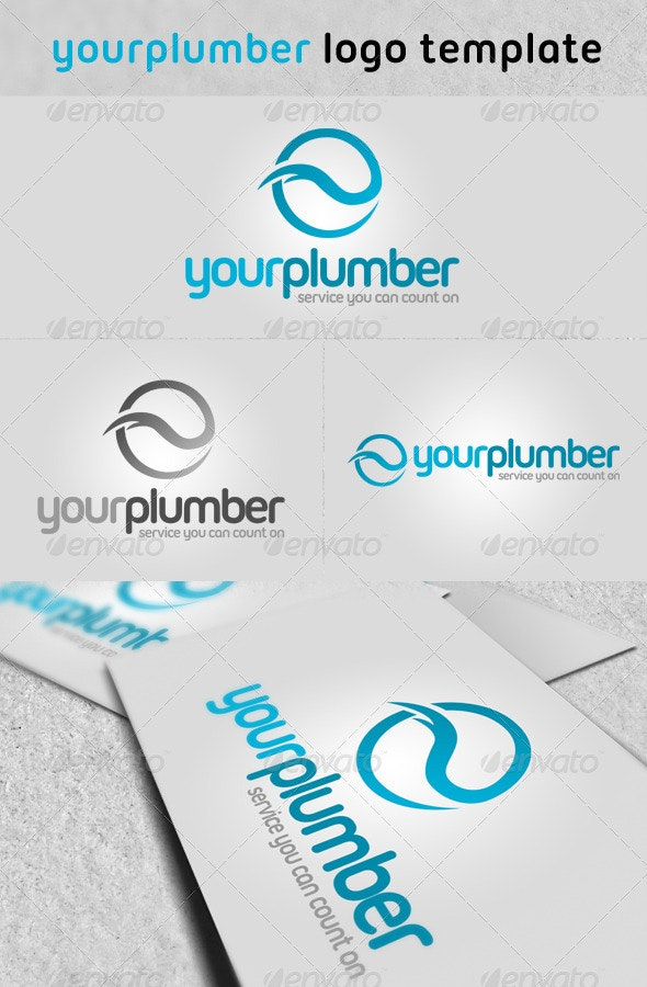 'Your Plumber' Logo - Symbols Logo Templates