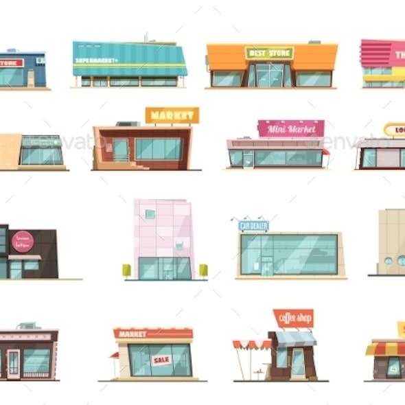 Shop Building Set