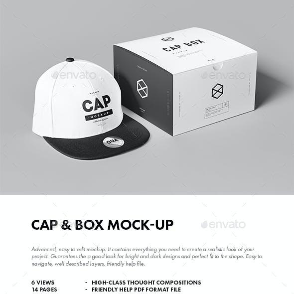 Cap & Box Mock-up