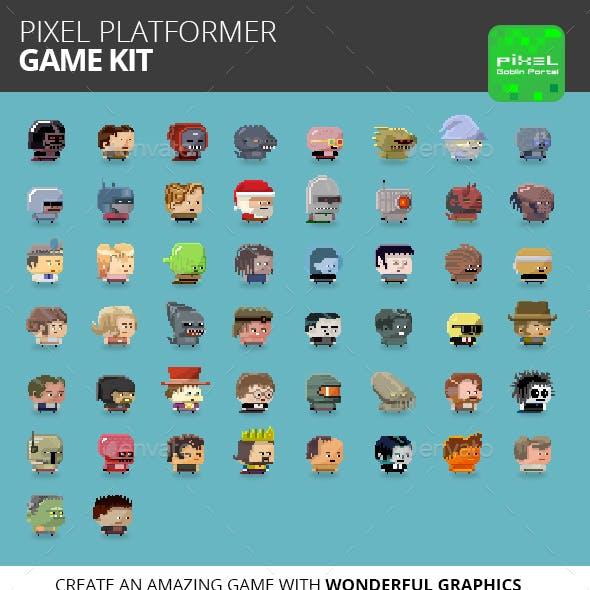 Pixel Platformer Game Kit