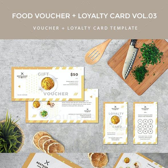 Gift Voucher Loyalty Card
