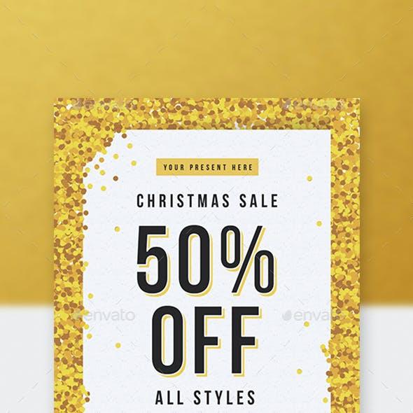 Gold Christmas Sale