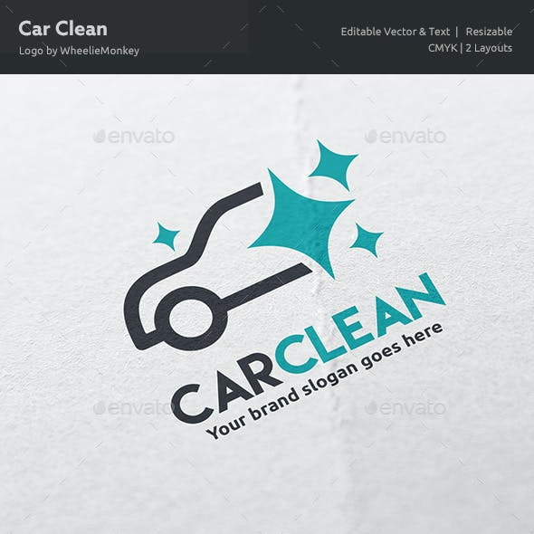 Car Clean Logo