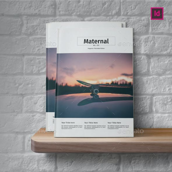 Multipurpose Magazine Template Vol.VIII