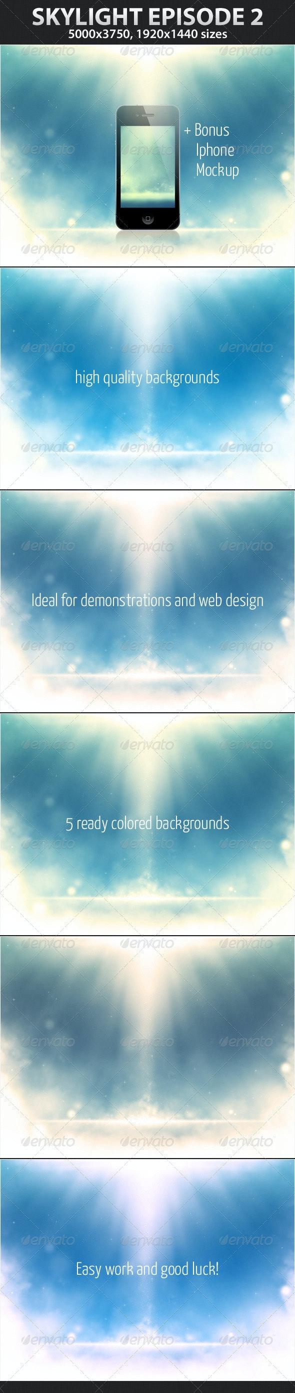 Skylight Episode 2 - Backgrounds Graphics