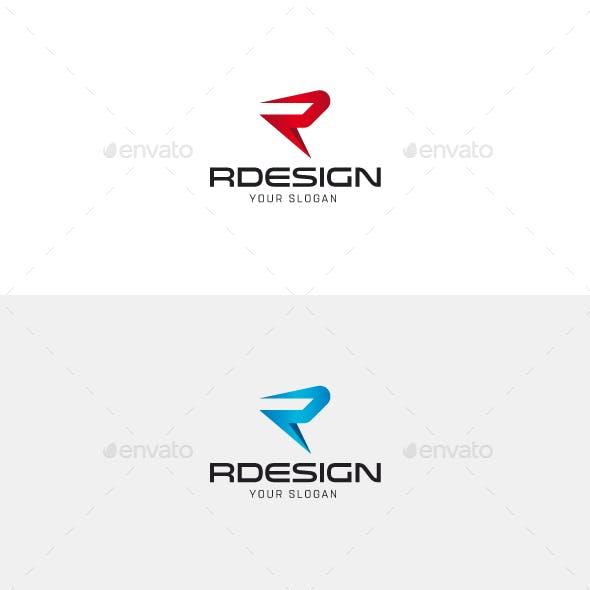 Rdesign R Letter Logo