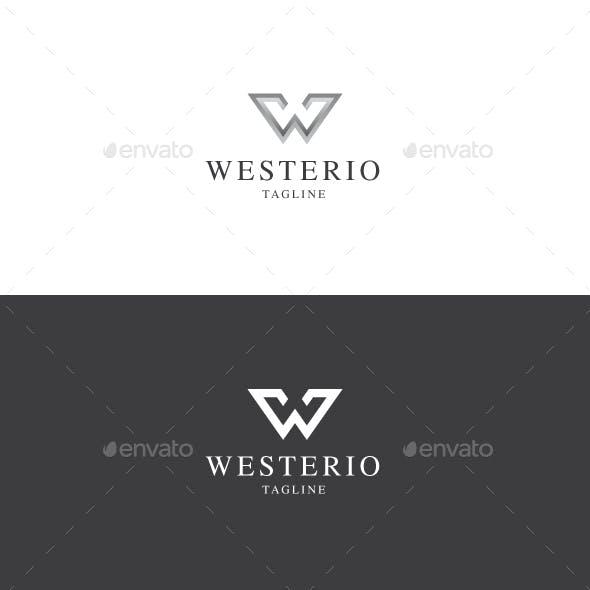 Westerio W Letter Logo