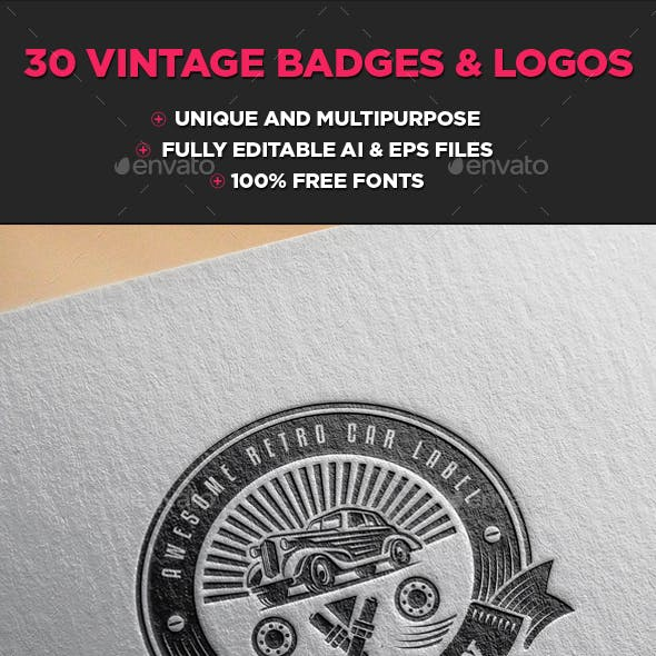 30 Vintage Logo Collection Volume 4