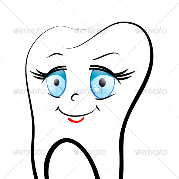 Smiling teeth