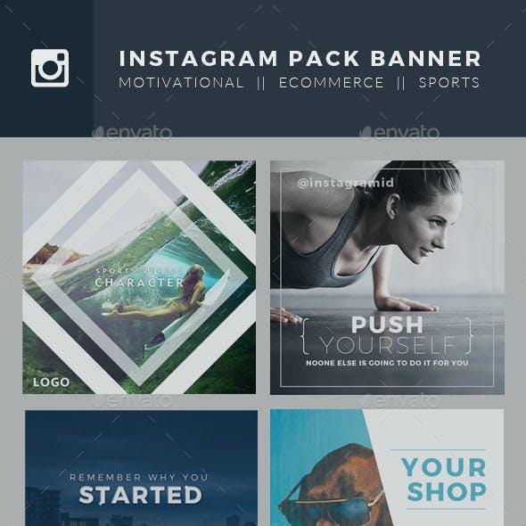 Elegant Instagram Banner