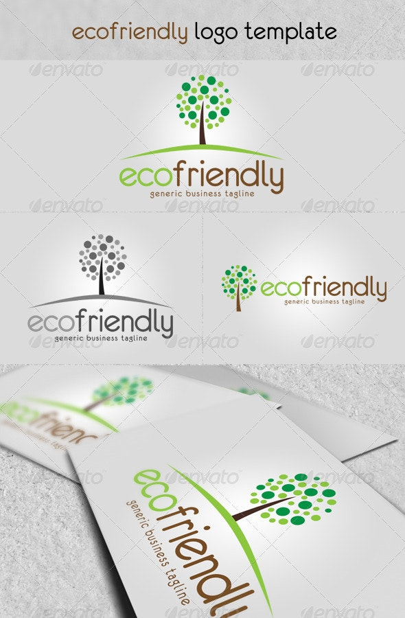 'Eco Friendly' Logo - Nature Logo Templates