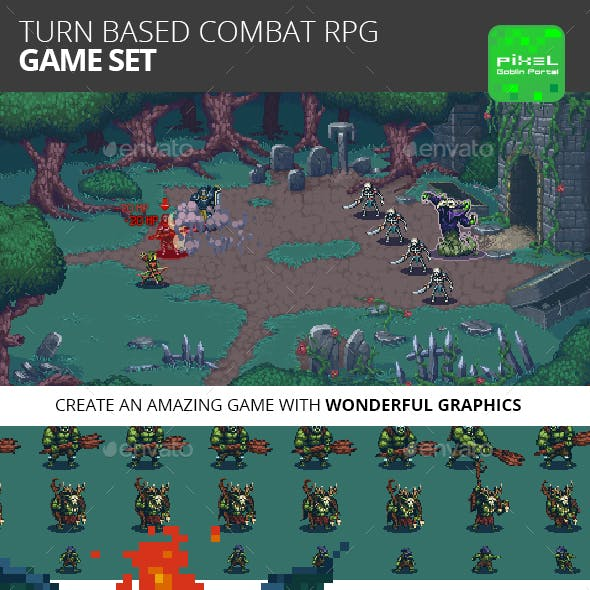 Turn Based Combat RPG Game Kit