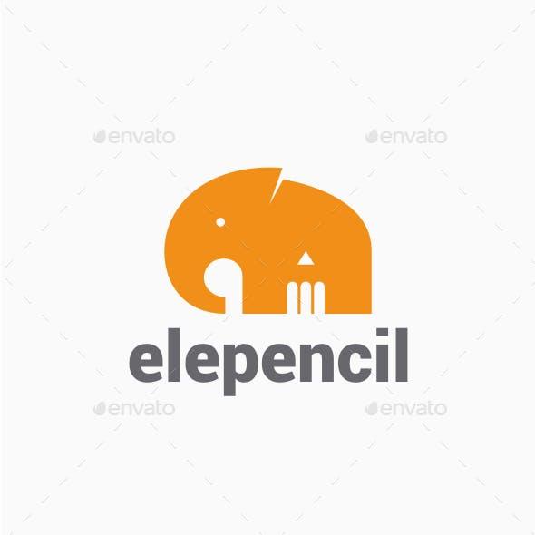 Elephant Pencil Logo