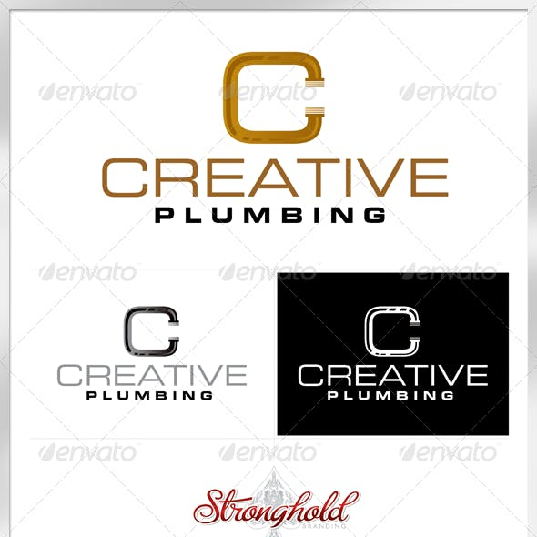 Plumbing Company Logo Template