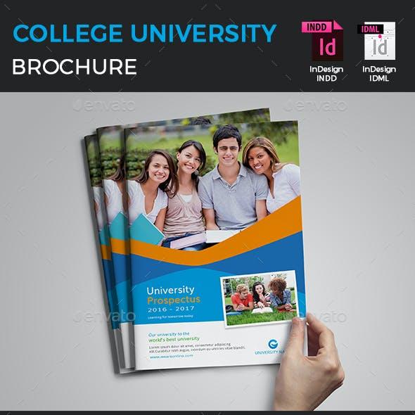 College University Brochure