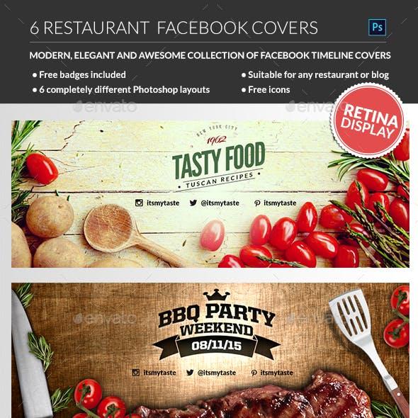 Restaurant Facebook Covers