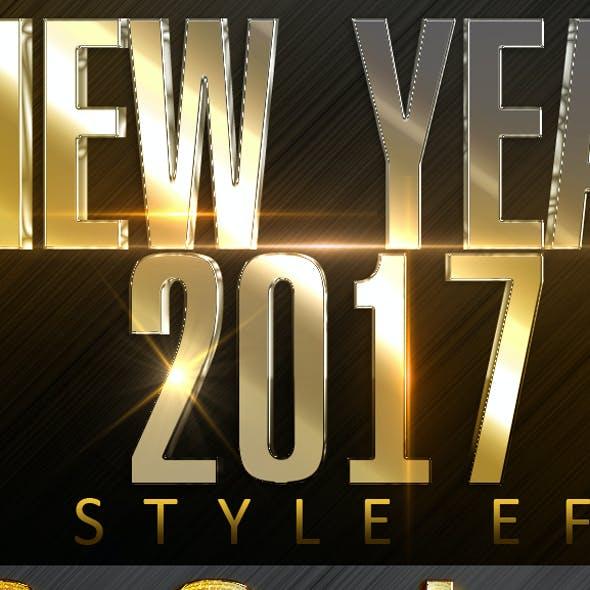 Luxury Text Styles V161113