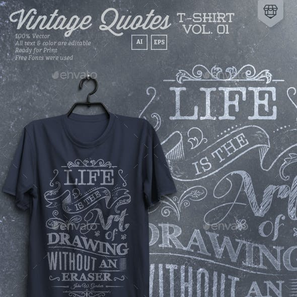 Vintage Quote T-Shirts