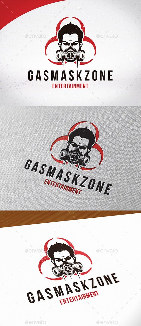 Gas Mask Logo Template - Humans Logo Templates