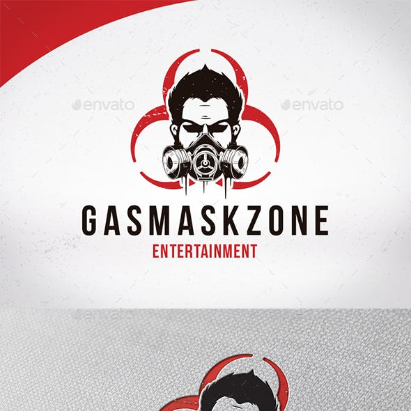 Gas Mask Logo Template