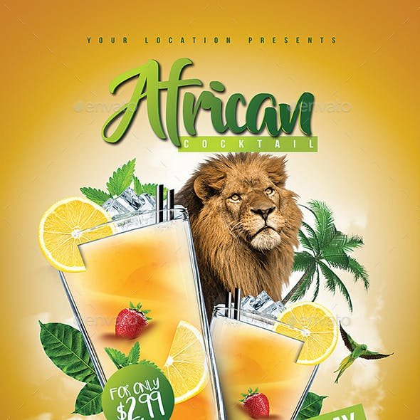 African Cocktail Flavour