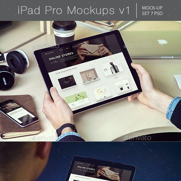 Pad Pro Mockups v1