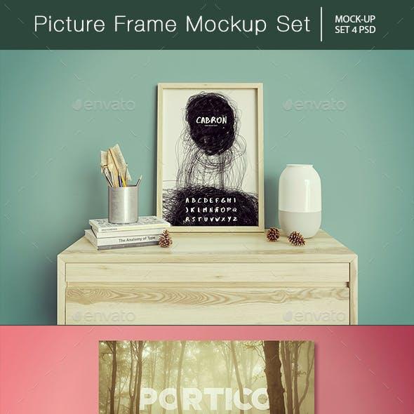 Picture Frame Mockup Set