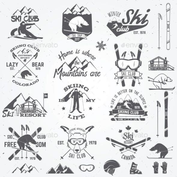 Ski Club Design