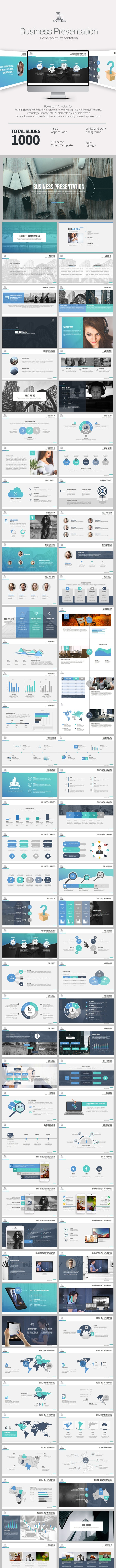 Business Presentation - PowerPoint Templates Presentation Templates