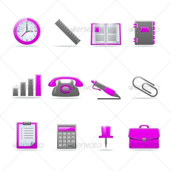 Glossy icon set - Web Icons