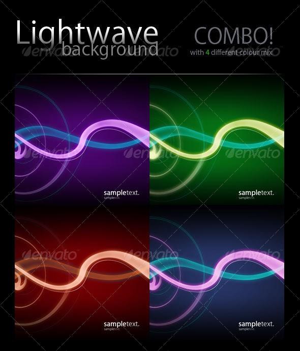 lightwave horizontal combo! - Backgrounds Graphics