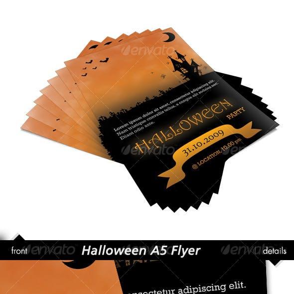 Halloween A5 Flyer